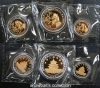 1996 Bimetallic panda 3-coin set