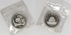 China 1997 1oz silver panda with mint sealed pouch