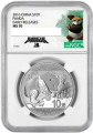2016 China 30g Silver Panda Label Varieties NGC 1