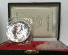 Complete and apparent Original COA Box, Easel and Medal 1993 Wang Xizhi anniversary copper medal set